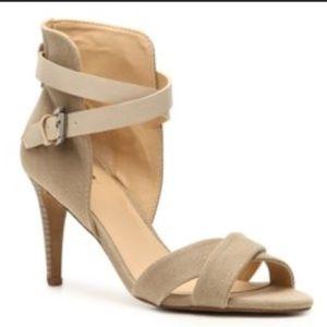 JOE'S JEANS Marcy Sandals Beige Textile Size 9